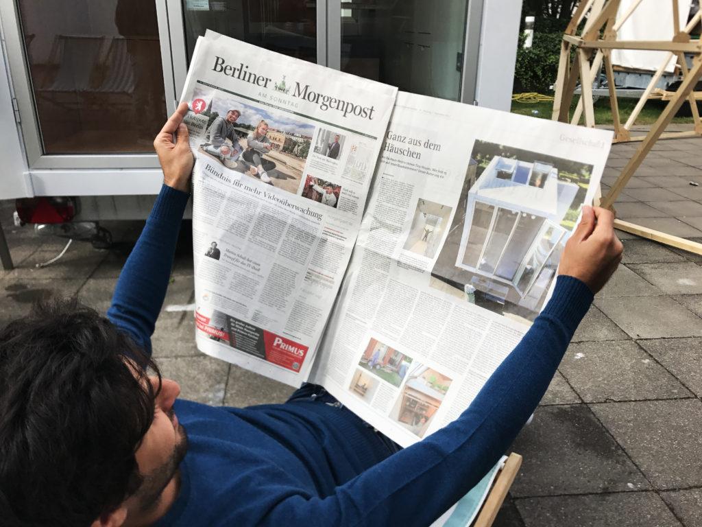 aVOID on Berliner Morgenpost (Bauhaus Campus) Copyright Leonardo Di Chiara