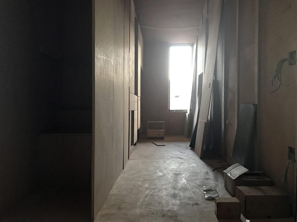 aVOID tiny house under construction at FG Arredamenti where Federico Luzi and his team realized all the interior space in record time (Fano, july 2017). © Leonardo Di Chiara